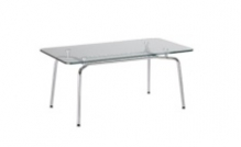 HELLO Table Duo GL chrome